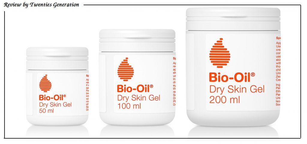 Review gel dưỡng ẩm Bio-Oil Dry Skin dành cho da khô